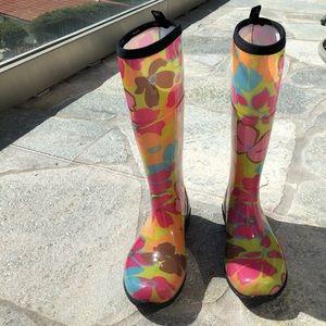 Kamik Floral Rain Boot